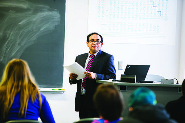 Muslim prof offers perspective on current events