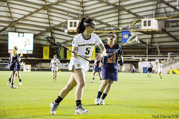 Women's lacrosse team falters in the dome