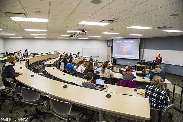 NMU steps up effort to create plans for sustainability