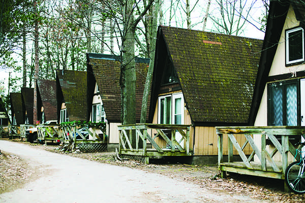 Bidding A-dieu: New housing unit to replace aging A-frames