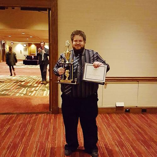 Cyber security student takes 3rd in challenge at national conference