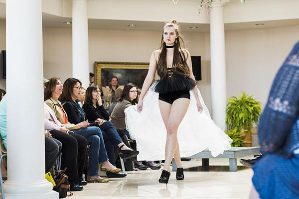 Eco-friendly fashion flaunts for a message