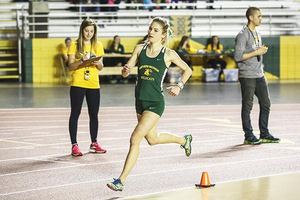 Track & Field grabs season's first win