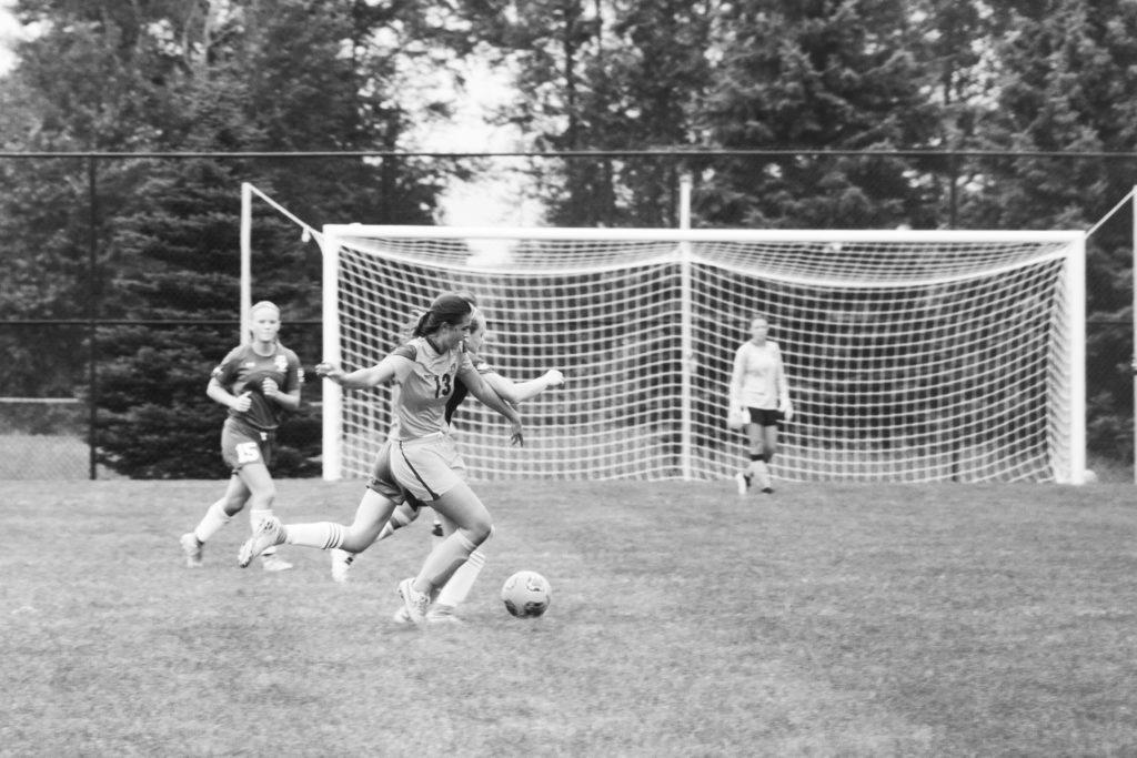 Road games kick-off Women's Soccer season