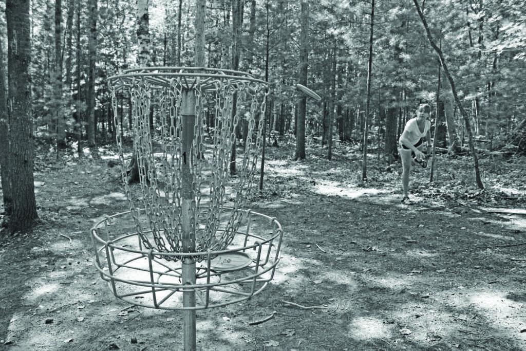 Disc golf:  a par-fect pastime