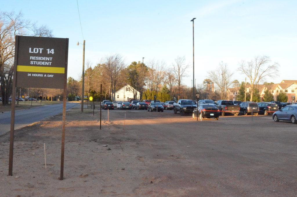 Resident student parking lot expands