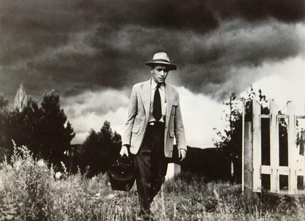 """""""Country Doctor"""" (1948) by American photojournalist W. Eugine Smith is one of numerous famous images currently on display until April 1 at the """"Aperture: Photographs"""" exhibit at the DeVos Art Museum in the NMU Art and Design Building."""