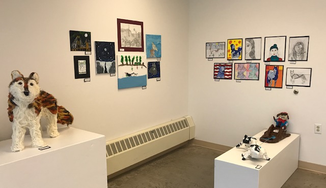 LSAA has a permanent art gallery in the basement of the Peter White Public Library and frequently hosts public programs and events. One of their most popular events is Art on the Rocks. Photo courtesy of LSAA