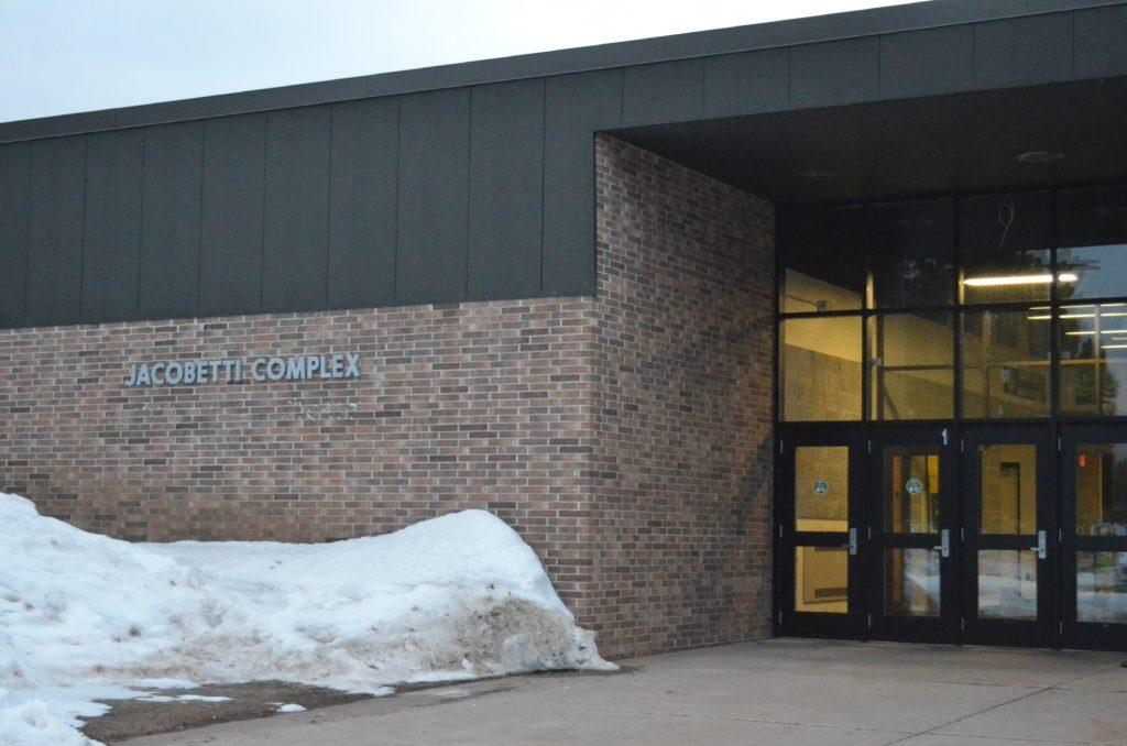 The complex is located on NMU's North Campus and spans nearly five acres. It is home to the department of Technology and Occupational Sciences. It features more than 40 specialized laboratories and classrooms. Photo by: Emma Case