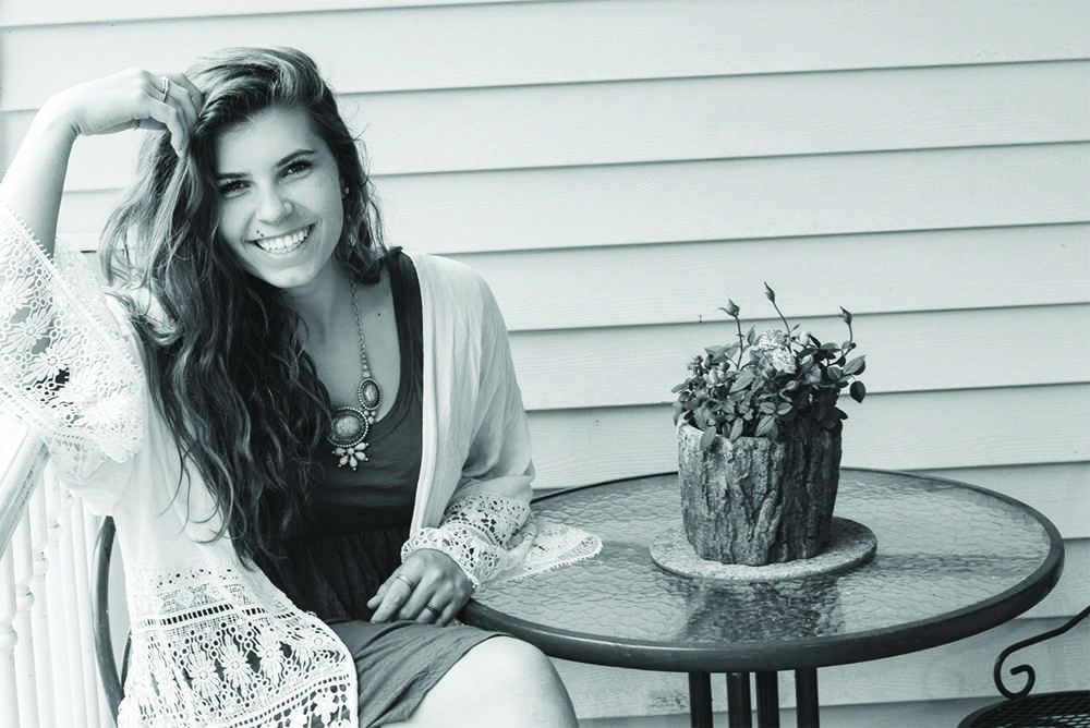 Haley Bussell is a local folk-soul singer and NMU student. Photo courtesy of Haley Bussell