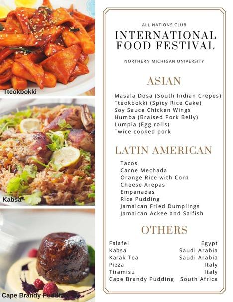 International Food Festival to feature authentic, diverse foods