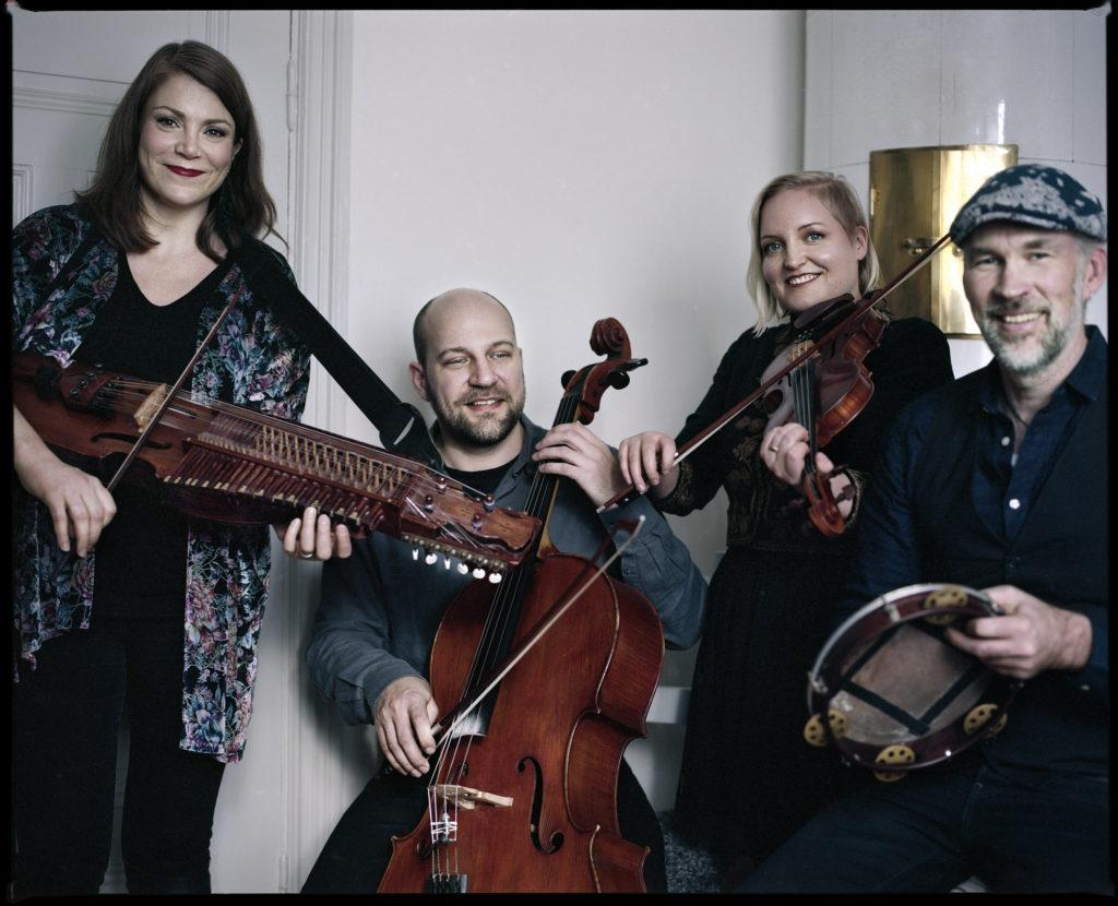 The Emilia Amper band draws inspiration from traditional Swedish folk music dating back to 600 years