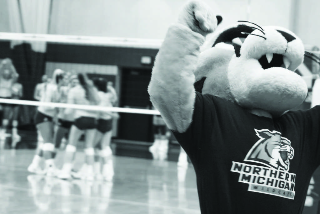 %0AWildcat+Willy+celebrates+an+NMU+point+during+a+team+huddle.%0APhoto+by+Jacob+Darner