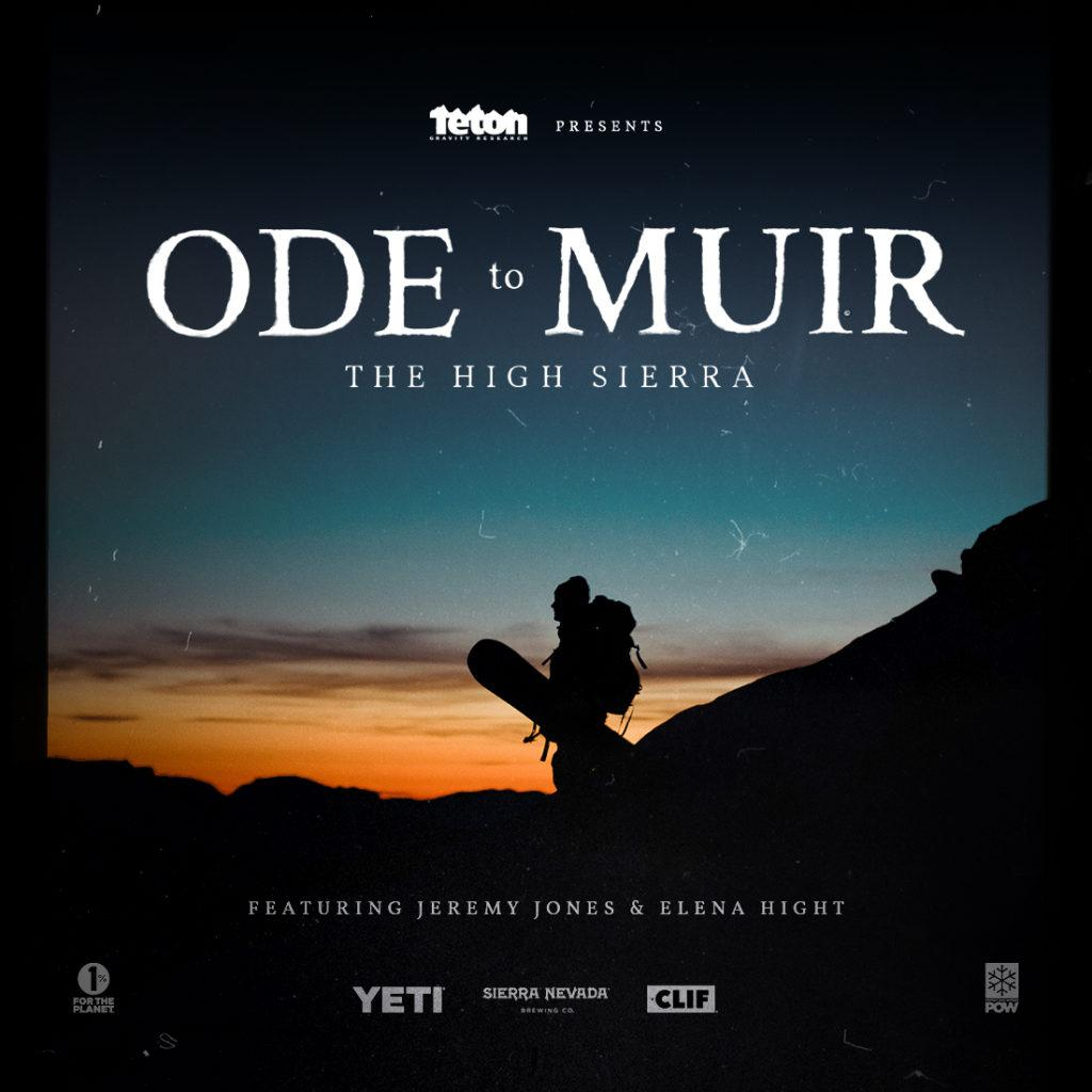 Ode to Muir, a film directed by Teton Gravity Research, will be shown tonight at 6 p.m. in Jamrich 1100 for the English department's  welcome back party to kick off the new semester.  Photo courtesy of Teton Gravity Research