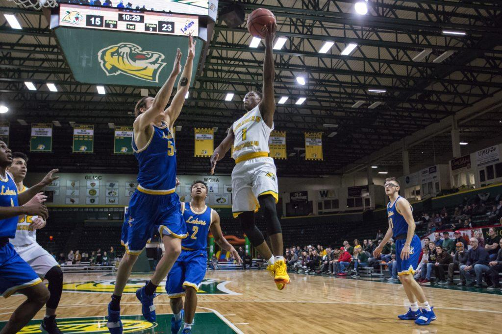 NMU+senior+guard+Naba+Echols+rises+up+for+a+layup+against+Lake+Superior+State+in+a+previous+matchup+earlier+this+season.%0A%0APhoto+courtesy+of+NMU+athletics%0A