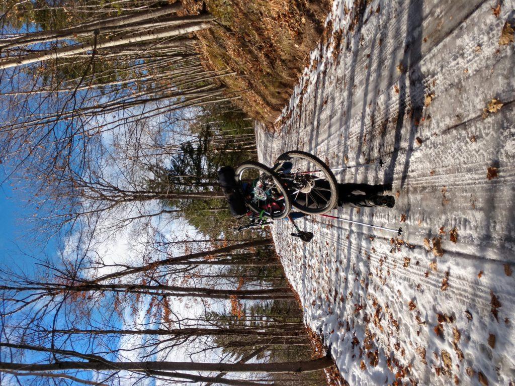 Biking for triple