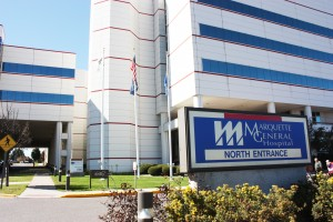 Veridea Group hopes to acquire the now vacant property of the Marquette General Hospital, located on College Avenue at the edge of NMU's campus. (NW archives)