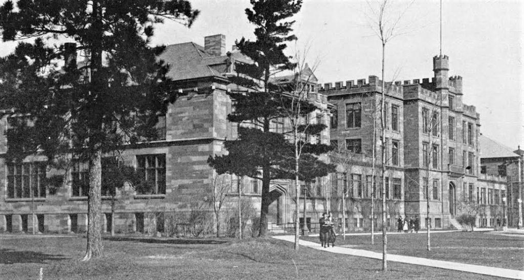 OLDEN+DAYS%E2%80%94Longyear+Hall+of+Pedagogy+served+NMU+from+1907+to+1993%2C+when+it+was+torn+down.++Photo+courtesy+of+James+McCommons