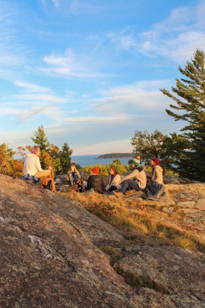 """WALKS WITH NATURE —Love Club goers often take nature walks to free their minds and be at one with """"the source."""" Founder Austin Clay plans to involve the club in more efforts surrounding sustainability.  Photo courtesy of Austin Clay"""