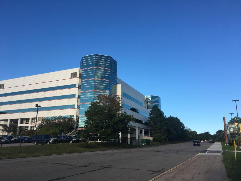 STILL FOR SALE—The old UP Health System hospital remains on the market after the Veridea Group, a local real estate company, backed out of an agreement and terminated the sale. Akasha Khalsa/NW