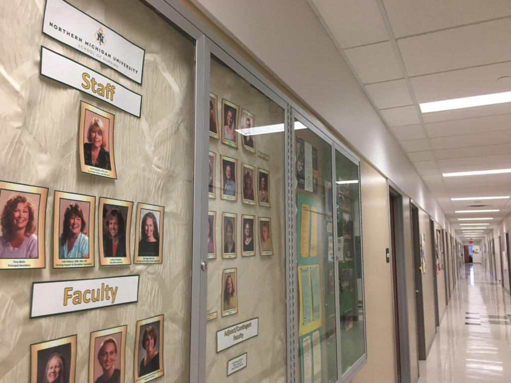 SCHOOL OF NURSING —The school of nursing is currently located in Weston Hall but has been a part of NMU's academic programming for 50 years as of 2019.