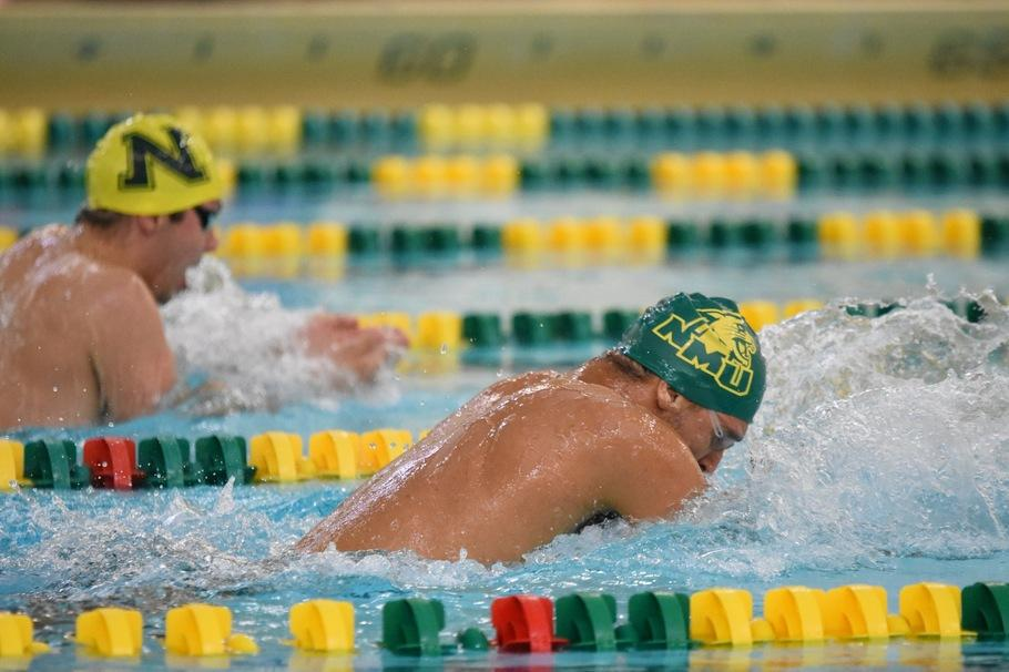 POOL PARTY—The Wildcats are on a roll as of late, dating back to the last couple of years. NMU will get its next chance for success in North Dakota this weekend. Photo courtesy of NMU Athletics.