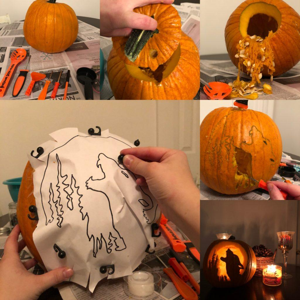 COOL CARVINGS—Follow six easy steps to have a natural decoration for Halloween and look like the coolest person on the block. Jackie Jahfetson/NW