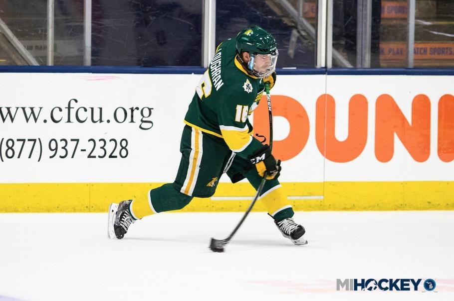 SCHEDULES OUT—NMU Hockey has released its 2020-21 schedule. Photo courtesy of NMU Athletics.