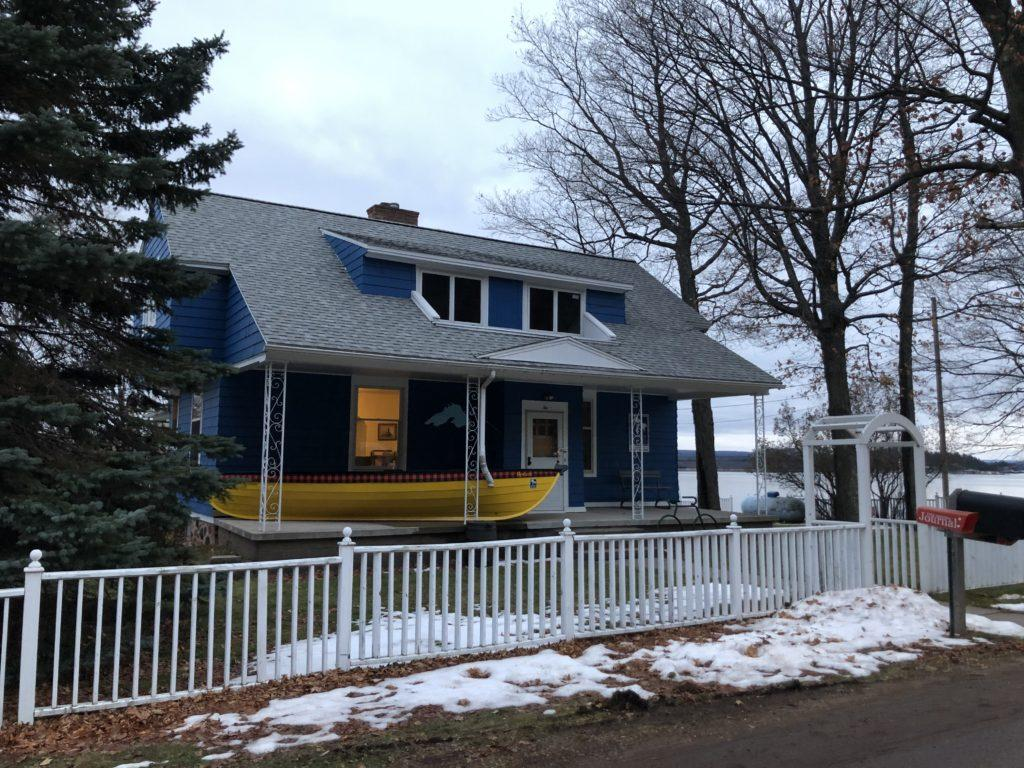 HERE TO HELP—The Superior Watershed Partnership's location at 2 Peter White Drive on Presque Isle is home to the initiative which aids impoverished families in the U.P. with financial assistance to help cover the energy costs of heating their homes during the brutal northern winters.
