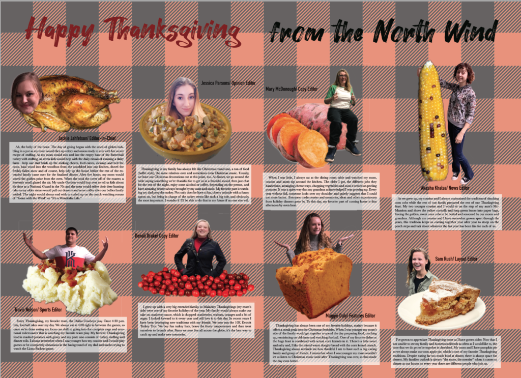 Happy Thanksgiving from The North Wind