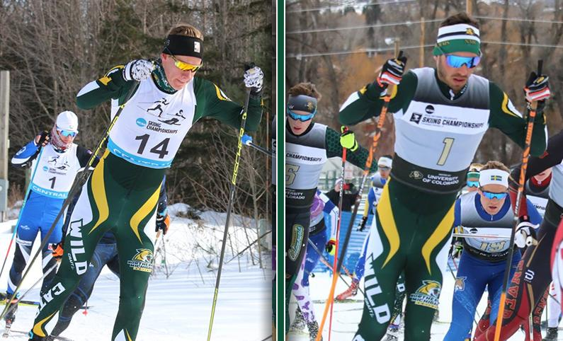 CHAMPIONSHIPS IN GRASP—After what has been a very successful start to the season, both skiing teams are pushing towards the NCAA Championships. Photo courtesy of NMU Athletics.