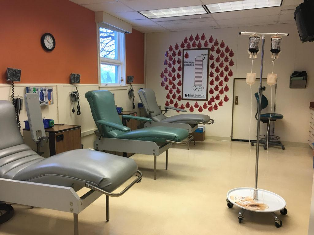 U.P. Health in urgent need of all blood types