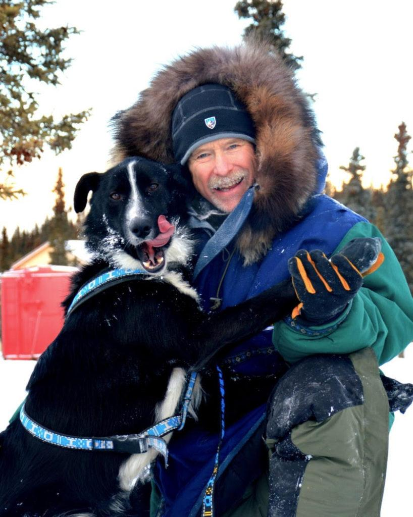 """MUSH, MUSH!—Dogsled racer Jeff King has received many awards for his races, as well as for his humane treatment of the winning dogs on his sled team. He will speak in Jamrich Hall to share adventure stories from his recently published autobiographical book, """"Cold Hands Warm Hearts."""""""