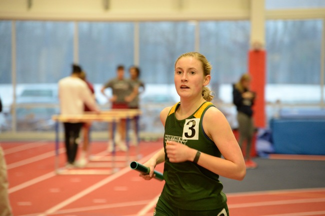 RUNNING THE GAUNTLET—The Wildcats have a tough stretch ahead of them, beginning on Saturday, Feb. 8 with the Pointer Invite. Photo courtesy of NMU Athletics