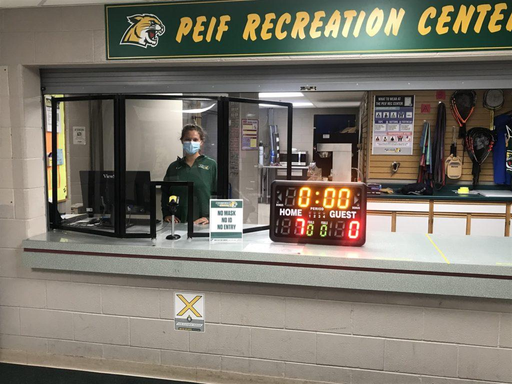 Photo courtesy of Tricia Bush PUSHING THROUGH THE PANDEMIC—Despite having to stay closed longer and through many regulations, the PEIF and its staff are doing its best to ensure that visitors are safe and still get a good workout.
