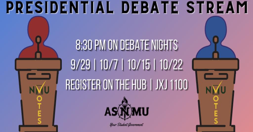 ASNMU Presidential Debate
