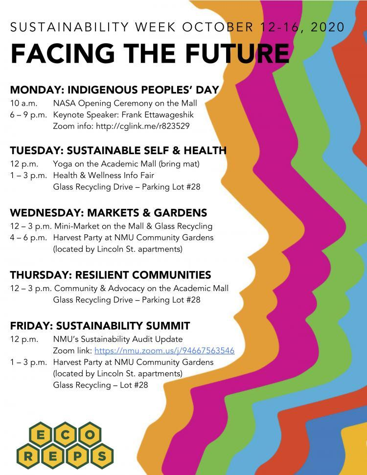 sustainability week schedule