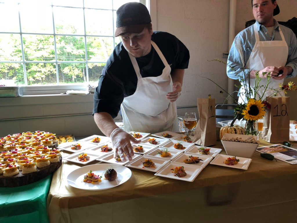 Photo courtesy of Alex Palzewicz. LOCAL FOOD FEST- This year in-person events are cancelled. Community members can still participate from the 9th to the 14th by going to local restaurants.