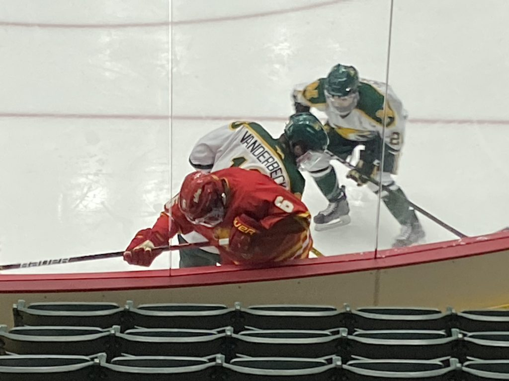 WILDCATS START OFF SEASON STRONG—NMU got off to a great start, and held off Ferris States comeback for the win in its first game of the season. The Cats are now 1-0 and will take on Michigan Tech this weekend in a two-game series.