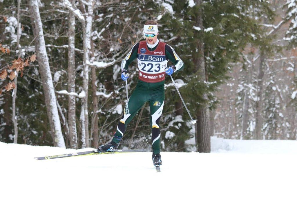 WINNING WILDCATS—The NMU Nordic Skiing team picked up a total of three gold medals this past weekend. Photo courtesy of Kjetil Baanerud.