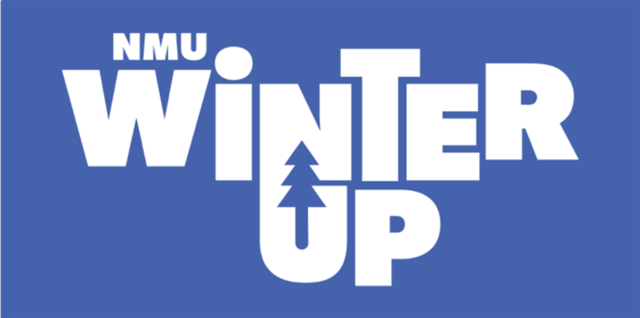 Graphic of logo for the Winter UP event