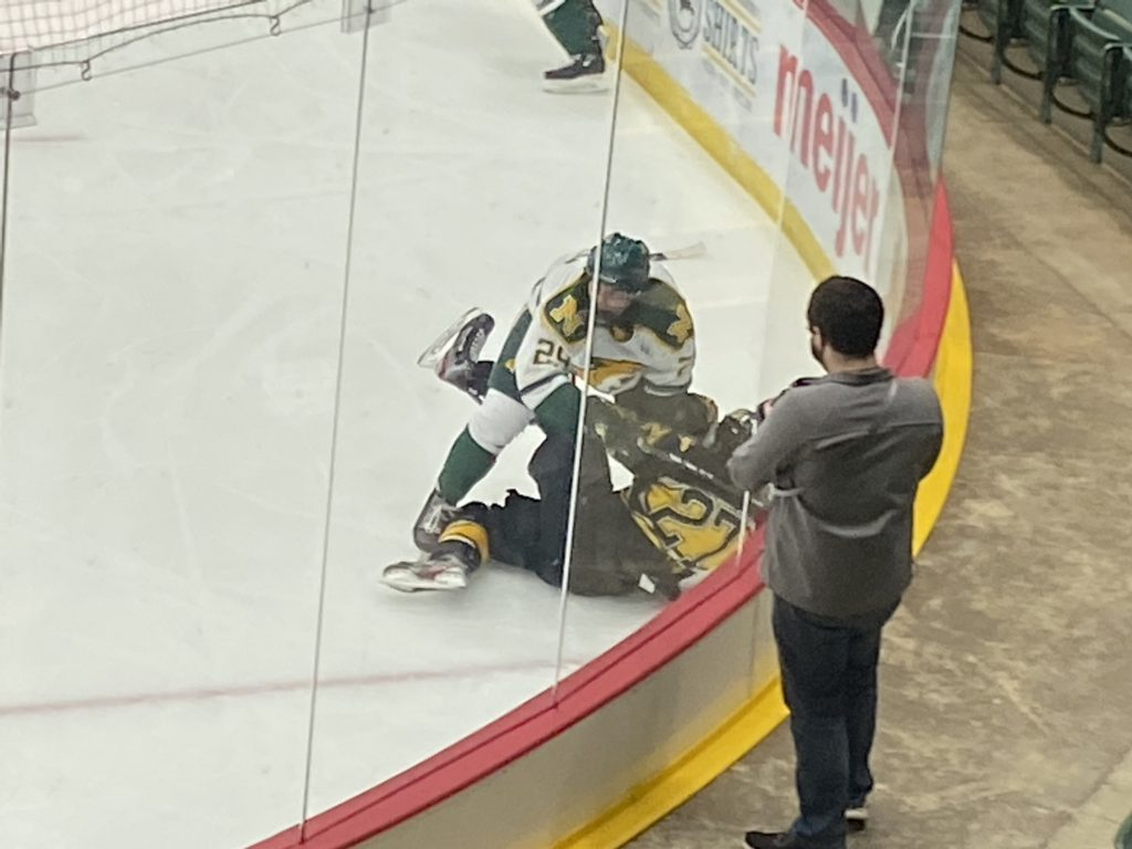 RIVALRY REDO—The Wildcats will now face Michigan Tech this weekend after both teams scheduled opponents postponed due to COVID-19. Travis Nelson/NW
