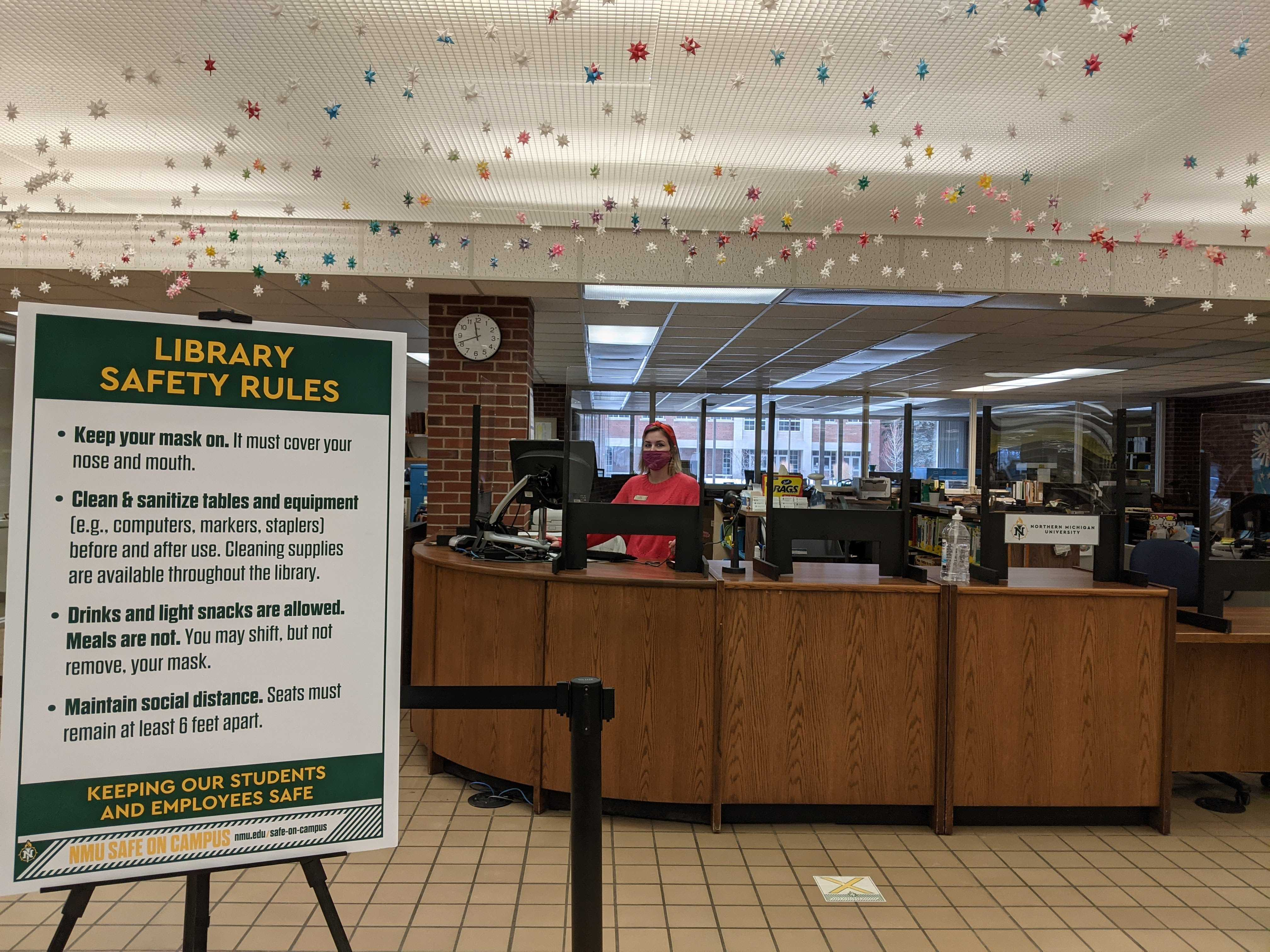 Library makes adjustments to policies due to Covid-19.