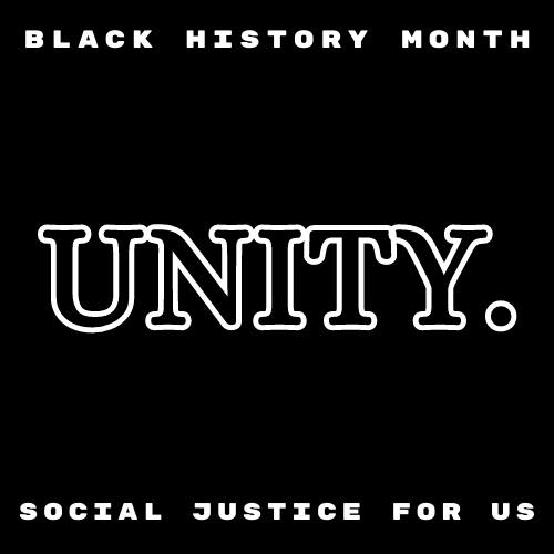 Photo series promo photo for the Social Justice For Us series, Power in Unity.
