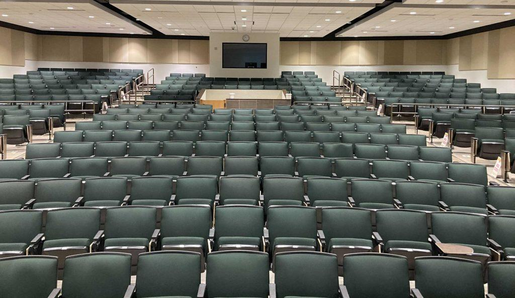 Photo of the seating in Jamrich 1100