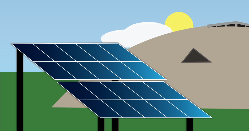 Sam Rush/NW  SOLAR POWER - The Superior Solar Project hopes to be in the construction phase as early as mid-2022 and in an operational capacity by the end of 2023. The solar farm will be located in Sands Township.