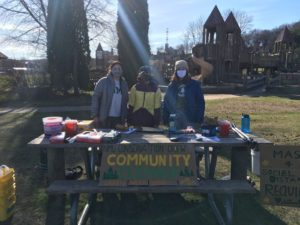 Photo courtesy of NMU Conservation Crew  COMMUNITY CLEANUP—On Saturday April 17, NMU