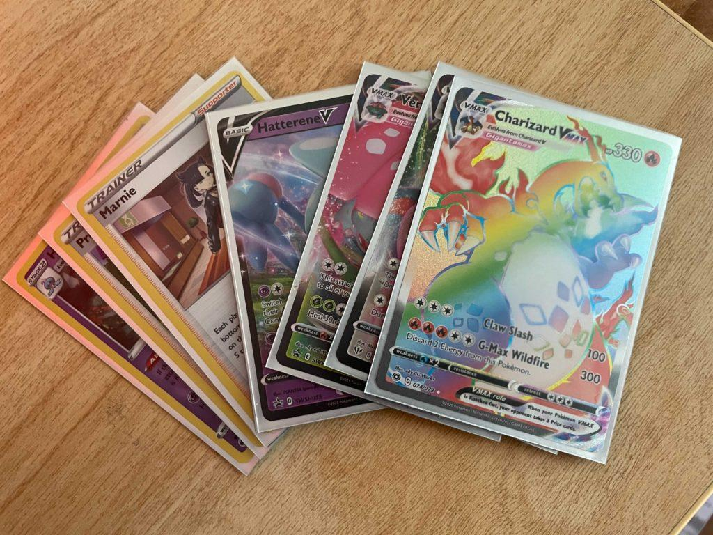 GOTTA CATCH EM ALL— The recent Pokémon card trend has taken the community and country by storm. Its been a common theme to see community members with packs of cards at their disposal. Dallas Wiertella/NW
