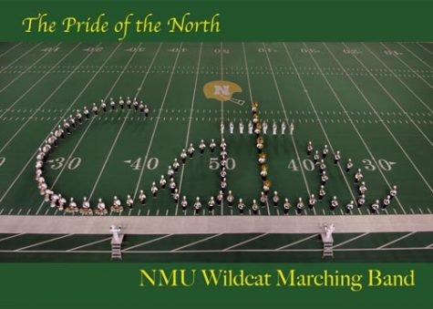 marching band spells Cats