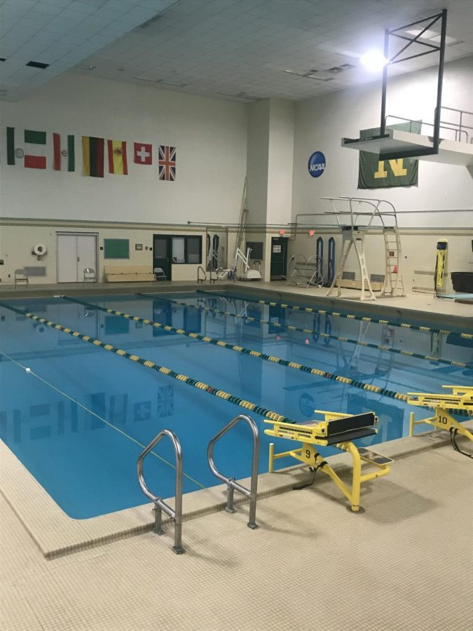 Photo courtesy of NMU Rec Sports OPEN SWIM—Beginning on Sept. 29, NMU Rec Sports will close the open swim offered on Mondays and Wednesdays due to a lack of lifeguards.